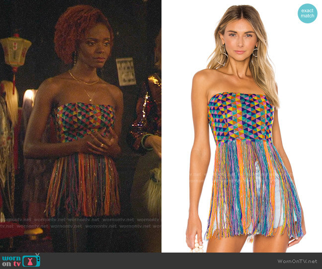 House of Harlow 1960 x Revolve Amelia Top worn by Josie McCoy (Ashleigh Murray) on Katy Keene