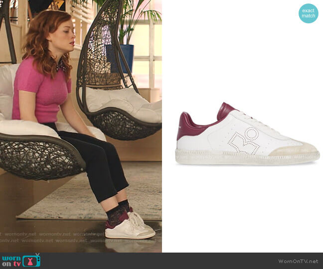 Bryce Low Top Sneakers by Isabel Marant worn by Zoey Clarke (Jane Levy) on Zoeys Extraordinary Playlist