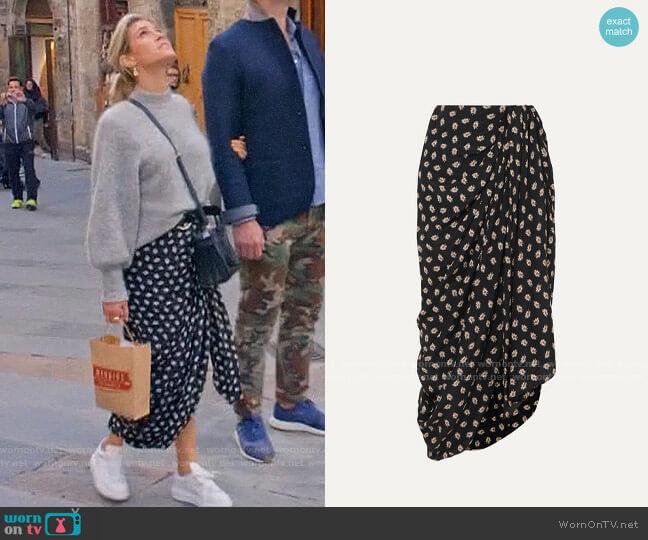 Isabel Marant Candice Skirt worn by Kristin Cavallari  on Very Cavallari