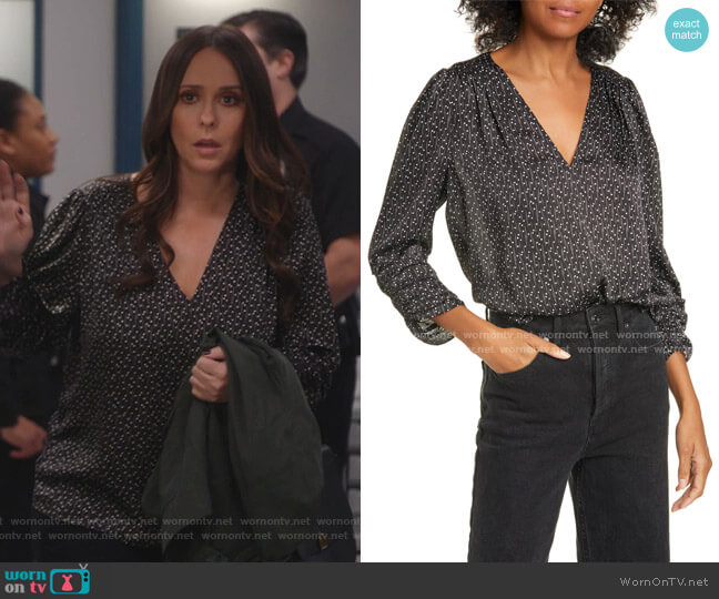 Maizie Top by Joie worn by Maddie Kendall (Jennifer Love Hewitt) on 9-1-1