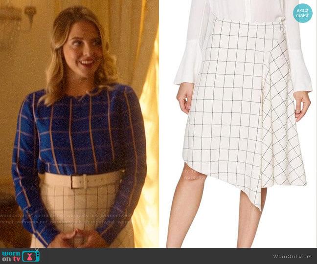 Joie Othelia Skirt worn by Amanda (Helene Yorke) on Katy Keene
