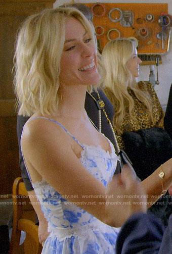Kristin's white zip-front jumpsuit in Italy on Very Cavallari