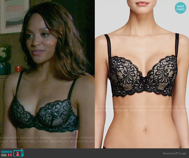Le Mystere Sophia Bra worn by Lani Price (Sal Stowers) on Days of our Lives