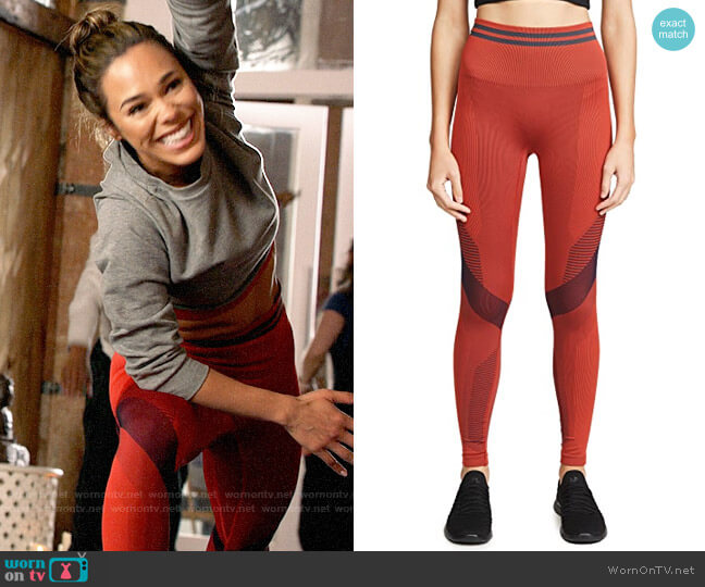LNDR Skylark Leggings worn by Emily Lopez (Jessica Camacho) on All Rise