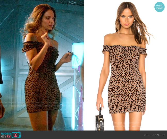 Majorelle Darcy Mini Dress worn by Zari Tomaz (Tala Ashe) on Legends of Tomorrow