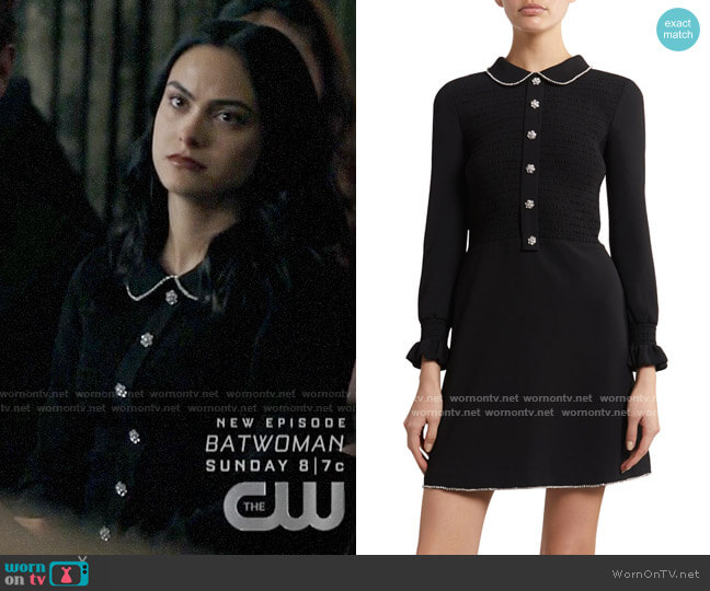 Marc Jacobs The Little Black Dress worn by Veronica Lodge (Camila Mendes) on Riverdale