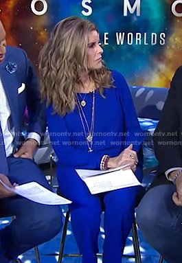 Maria's blue jumpsuit on Today