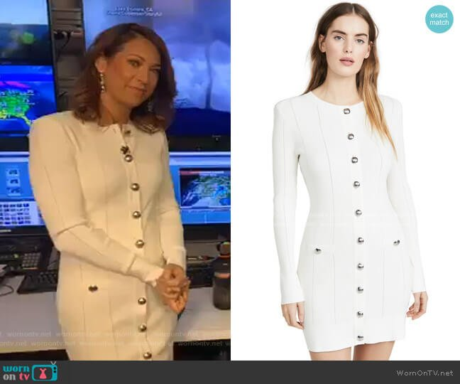 Lennox Dress by Ramy Brook worn by Ginger Zee  on Good Morning America