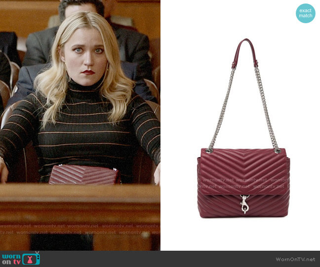 Rebecca Minkoff Edie Bag worn by Roxy Doyle (Emily Osment) on Almost Family