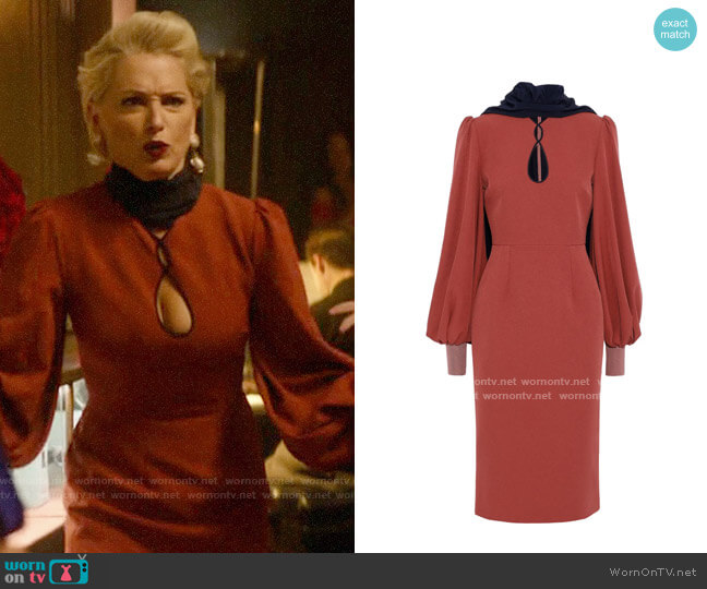 Roksanda Ilexa Dress worn by  Gloria Grandbilt (Katherine LaNasa) on Katy Keene
