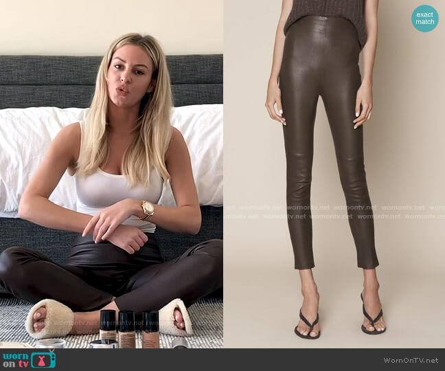 Jessica Pants by Sablyn worn by Morgan Stewart  on E! News