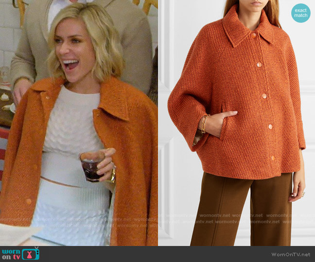 See by Chloe Cropped wool-blend tweed jacket worn by Kristin Cavallari  on Very Cavallari