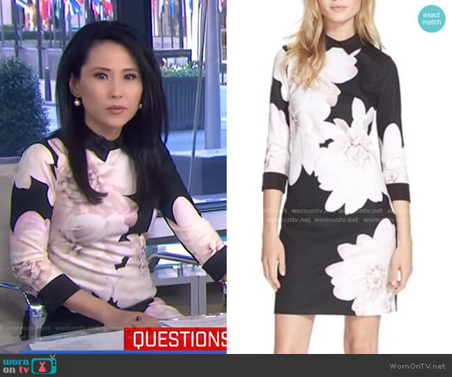 Kida Dress by Ted Baker worn by Vicky Nguyen  on Today