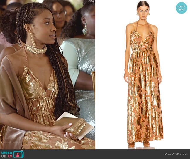 Gia Dress by Ulla Johnson worn by Yana (Kiandra Richardson) on Empire