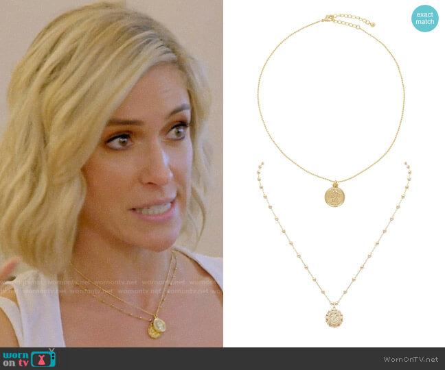 Uncommon James Bahia and Small Atocha Necklaces worn by Kristin Cavallari  on Very Cavallari