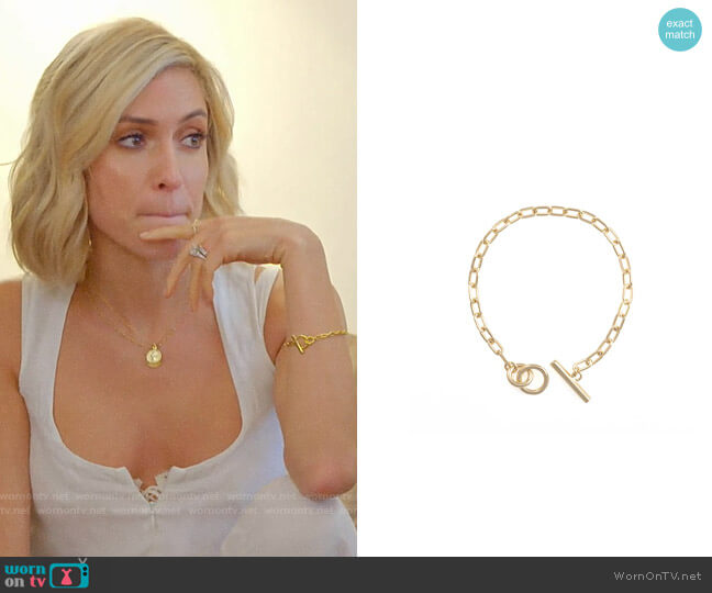 Uncommon James Chain Bracelet worn by Kristin Cavallari  on Very Cavallari