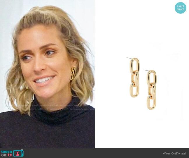 Uncommon James Chain Earrings worn by Kristin Cavallari  on Very Cavallari