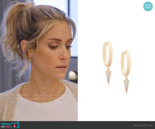 Uncommon James Harlem Earrings worn by Kristin Cavallari  on Very Cavallari