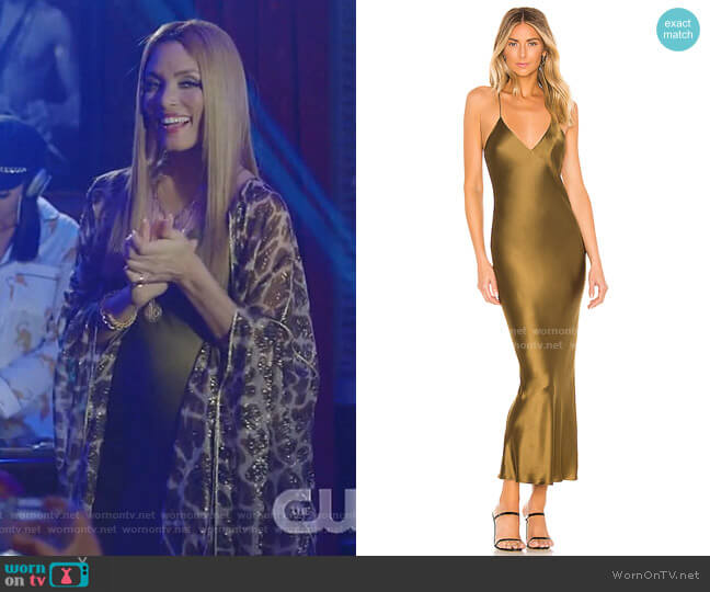 Lewis Dress by Alix NYC  worn by Dominique Deveraux (Michael Michele) on Dynasty