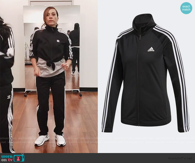 Designed 2 Move Track Jacket by Adidas worn by Joya Barris (Rashida Jones) on BlackAF