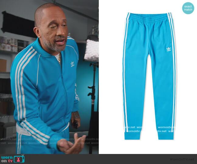 SST Track Pants by Adidas worn by Kenya Barris  on BlackAF