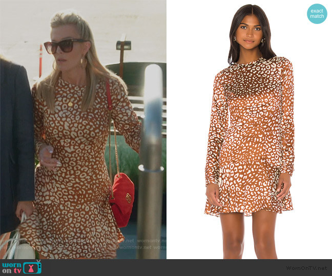 Madhu Dress by Alexis worn by Tinsley Mortimer  on The Real Housewives of New York City