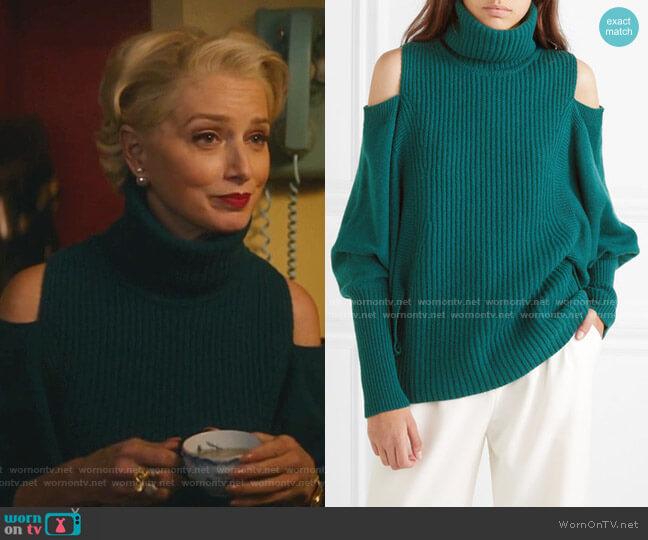 Cold-Shoulder Sweater by Antonio Berardi