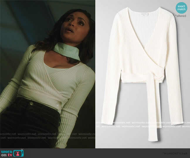 Romeo Sweater by Babaton worn by Cecile Horton (Danielle Nicolet) on The Flash