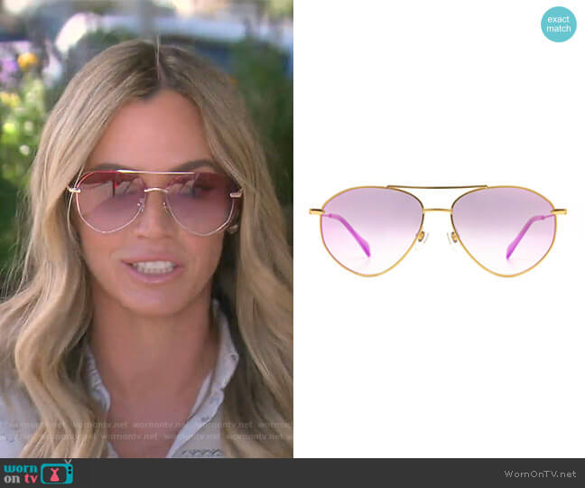 Cameran Eubanks by Diff worn by Teddi Mellencamp Arroyave  on The Real Housewives of Beverly Hills