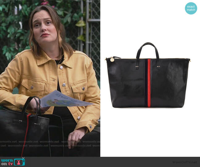 Attache Bag by Clare V worn by Angie (Leighton Meester) on Single Parents