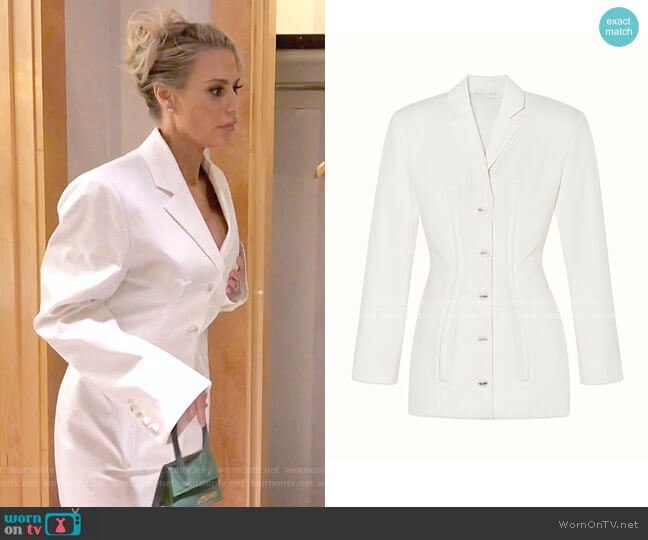 Corset Blazer Dress by Fenty worn by Dorit Kemsley  on The Real Housewives of Beverly Hills