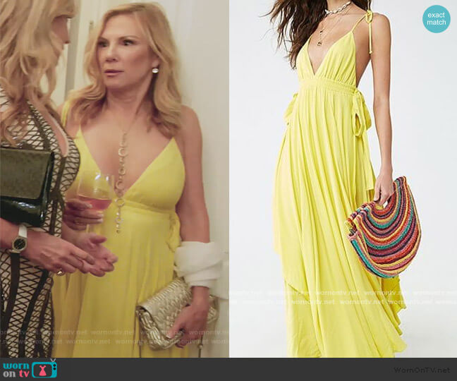 Maxi Dress by Forever 21 worn by Ramona Singer  on The Real Housewives of New York City