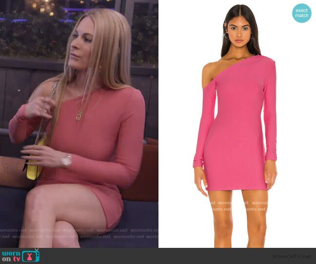 Maisy Dress by H:ours worn by Leah McSweeney  on The Real Housewives of New York City