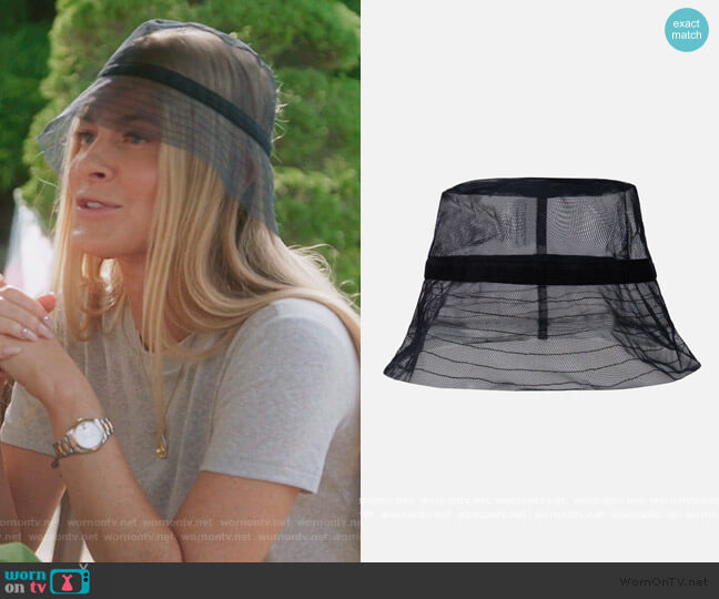 Bucket Hat Black by Ida Klamborn worn by Leah McSweeney  on The Real Housewives of New York City