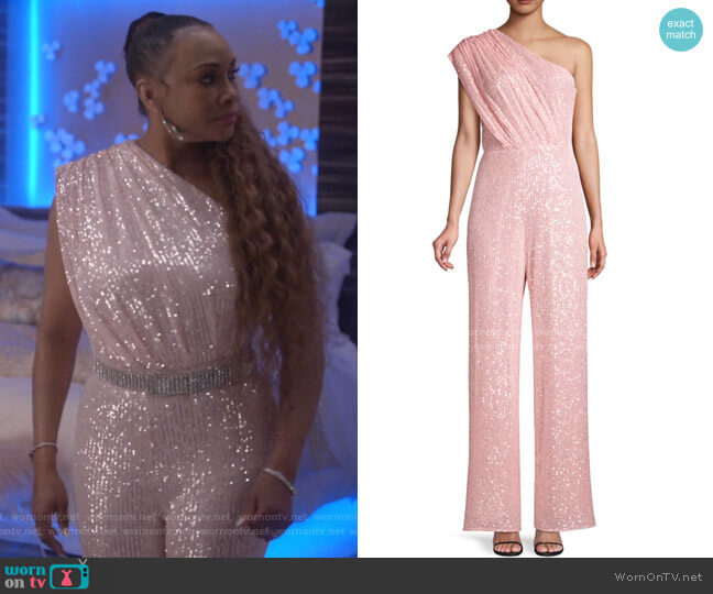 Georgia Sequin Jumpsuit by Jay Godfrey worn by Vivica A. Fox on Empire