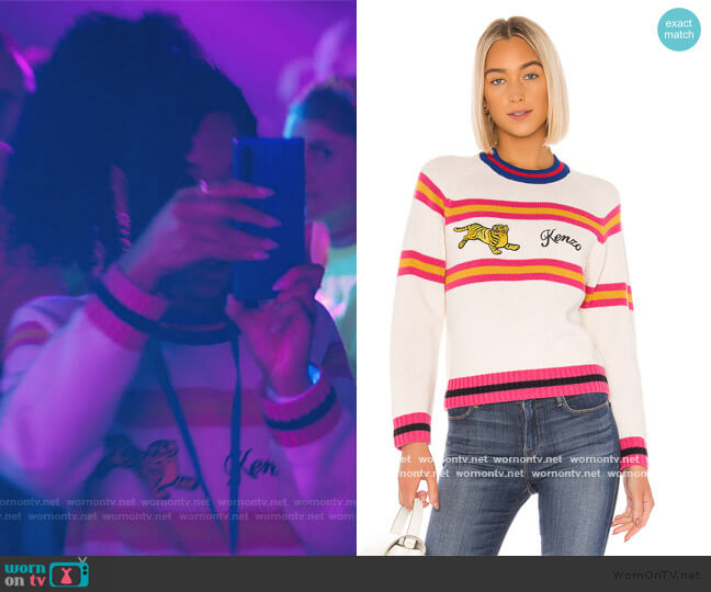 Jumping Tiger Pullover by Revolve worn by Drea Barris (Iman Benson) on BlackAF