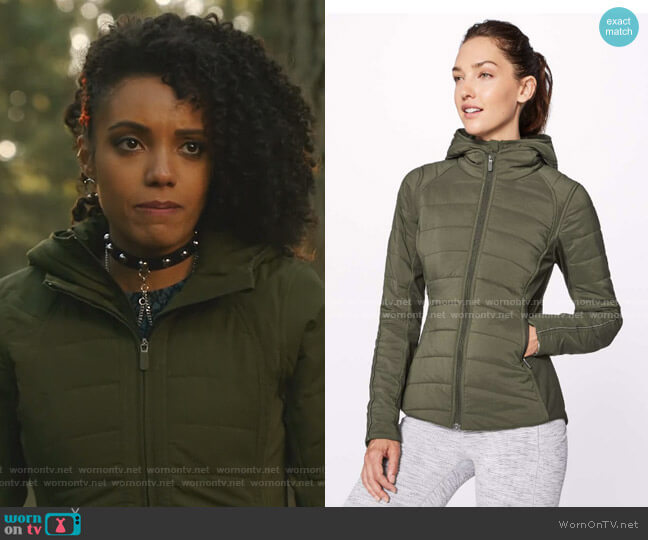 Extra Mile Jacket by Lululemon worn by Charlie (Maisie Richardson-Sellers) on Legends of Tomorrow