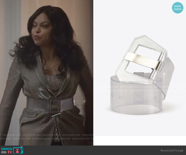Transparent Belt by Maison Margiela worn by Cookie Lyon (Taraji P. Henson) on Empire