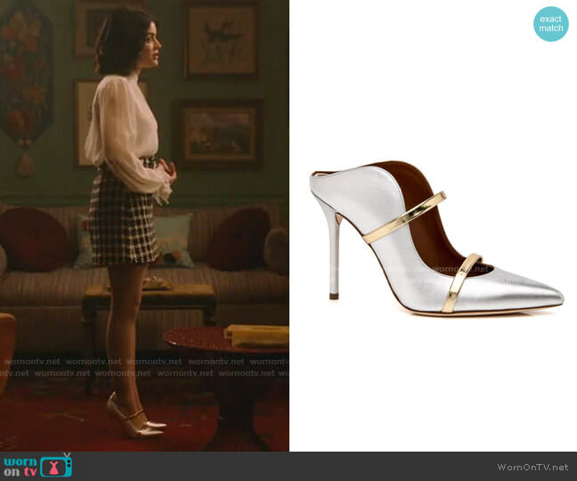 Maureen Pumps by Malone Souliers worn by Katy Keene (Lucy Hale) on Katy Keene