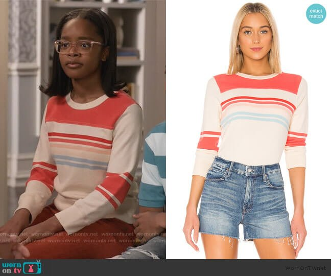 The Half And Half Koozie by Mother worn by Diane Johnson (Marsai Martin) on Blackish