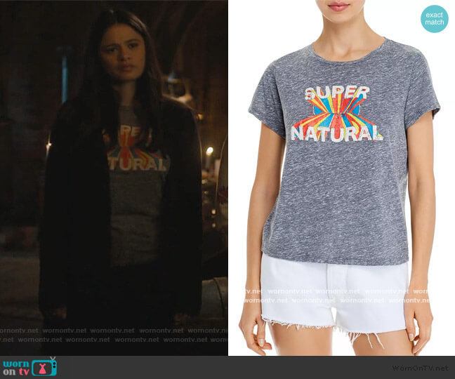 The Little Goodie Goodie Tee by Mother worn by Mel Vera (Melonie Diaz) on Charmed