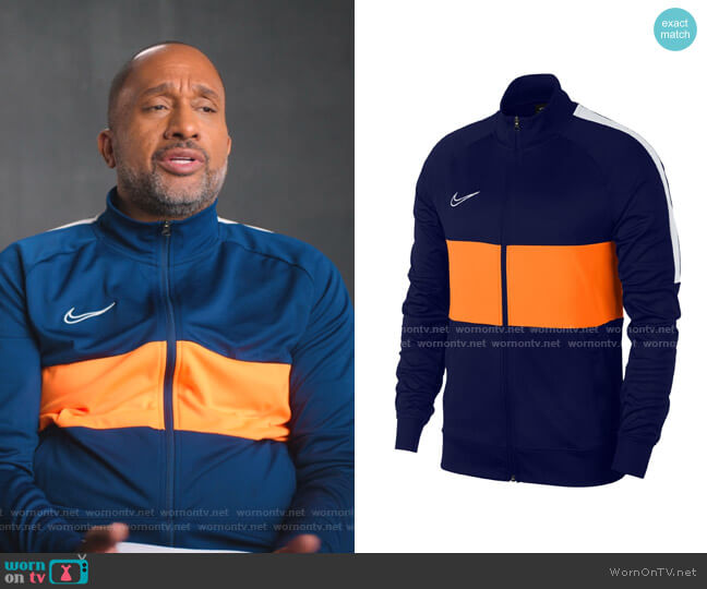 Nike Dri-FIT Academy I96 Track Jacket  by Nike worn by Kenya Barris  on BlackAF