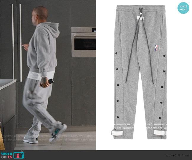 Fear of God Tear Pants by Nike worn by Kenya Barris  on BlackAF