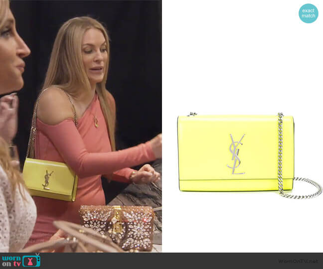 Small Kate Bag by Saint Laurent worn by Leah McSweeney  on The Real Housewives of New York City