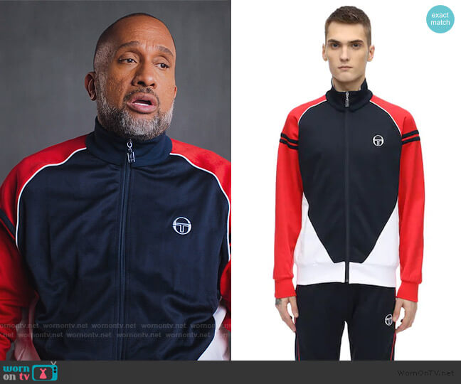 Ascot Archivo Track Jacket by Sergio Tacchini worn by Kenya Barris  on BlackAF