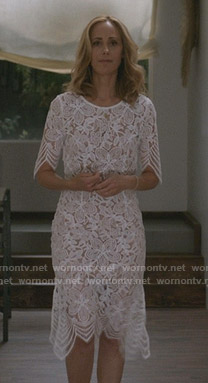 Teddy's wedding dress on Greys Anatomy