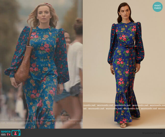 Belted Cotton Tee Dress by The Vampires Wife worn by Villanelle (Jodie Comer) on Killing Eve