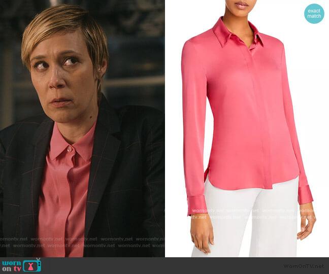 Classic Fitted Shirt by Theory worn by Bonnie Winterbottom (Liza Weil) on HTGAWM