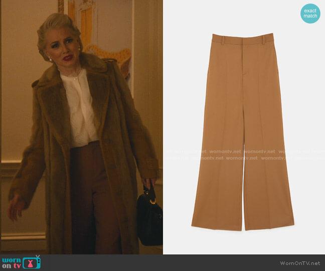 High Waisted Pants by Zara worn by  Gloria Grandbilt (Katherine LaNasa) on Katy Keene