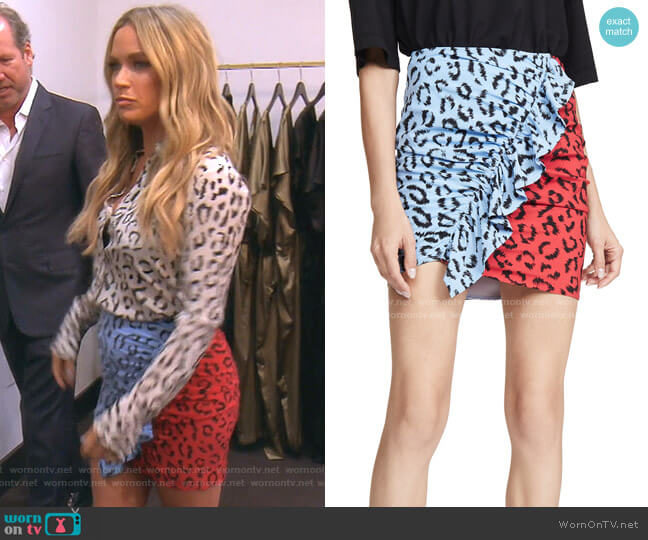 Geller Skirt by A.L.C. worn by Teddi Mellencamp Arroyave  on The Real Housewives of Beverly Hills